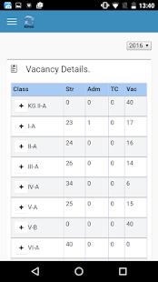 eSchoolApp Administrator - náhled