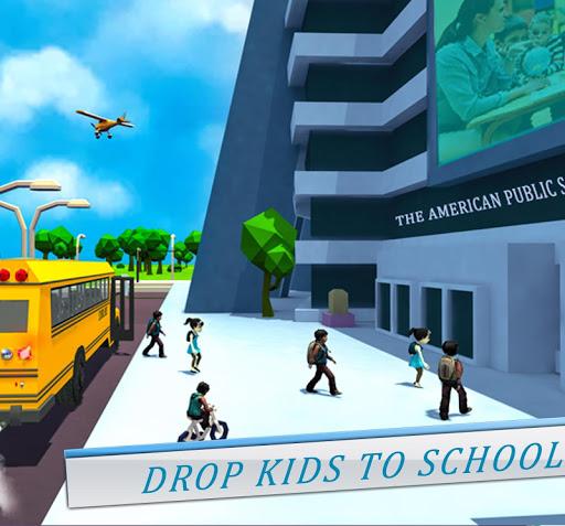 School Bus Driving Game Simulator 2018