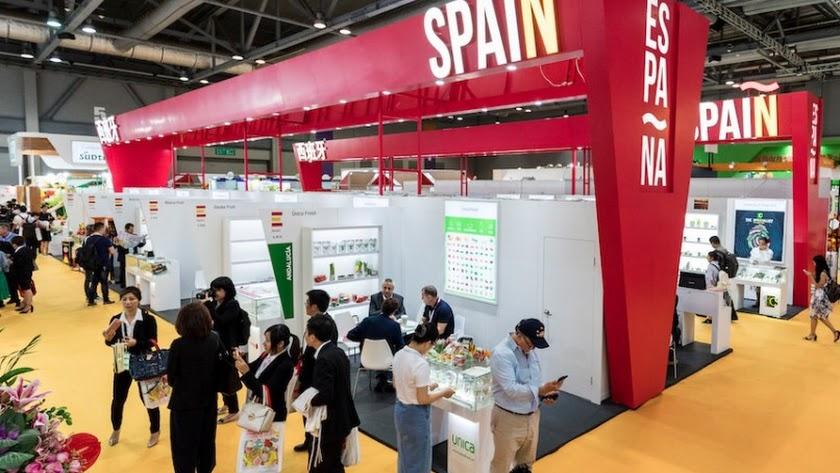 La participación de las empresas españolas en el mercado asiático de frutas y hortalizas va en aumento.