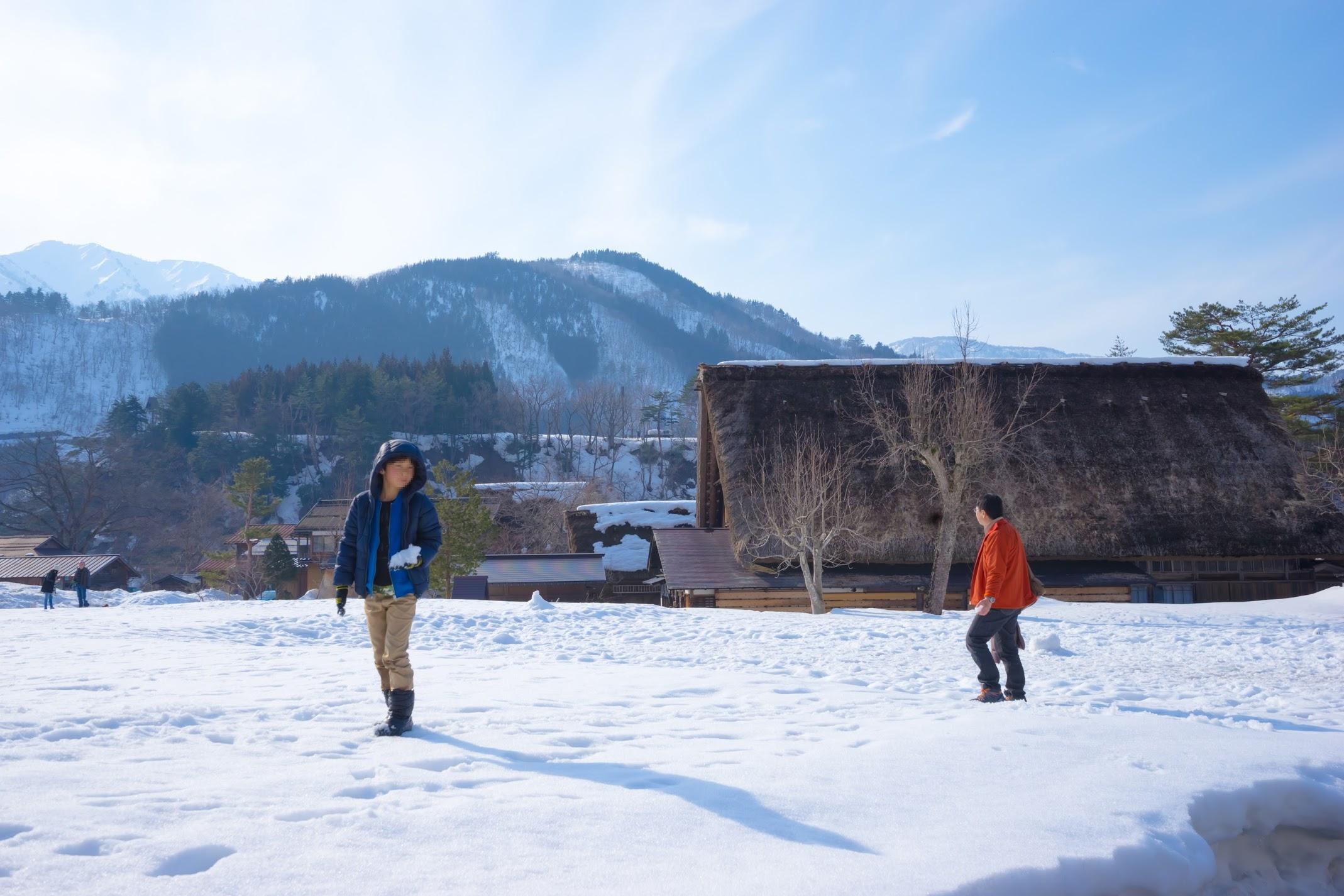 Shirakawa-go winter1