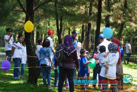 Family Gathering di Talaga Cikeas
