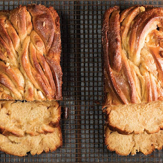 White Chocolate-Tahini Babka.