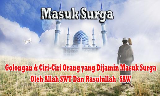 Masuk Surga - náhled