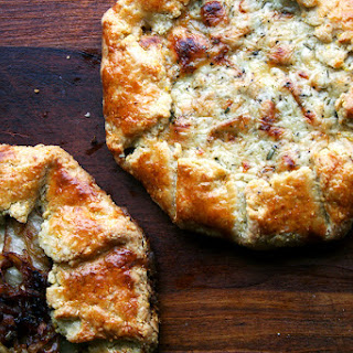 Fontina, Pear and Caramelized Onion Galettes