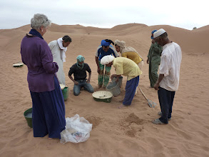 Photo: Groasis Waterboxx comes to M'hamid in October 2010