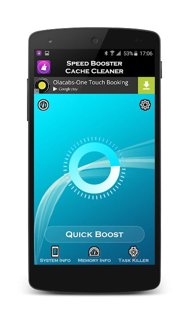 #2. Speed Booster (Android)
