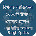 বিখ্যাত ব্যাক্তিদের কিছু উক্তি Quotes Bangla 2020 icon