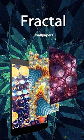 android Cool Fractal Wallpapers Screenshot 0