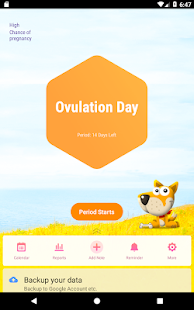 Period Tracker, Ovulation Calendar & Fertility app 8