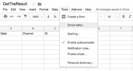 How to Save your RapidPro flow result to Google Sheets