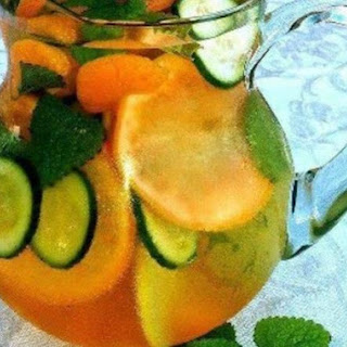 Fabulous Citrus Cucumber Water Fat Flush!!!!