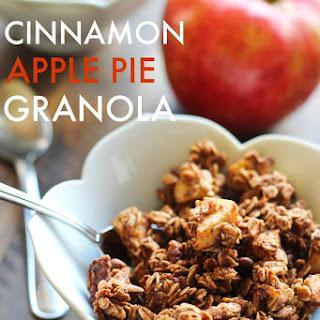 Cinnamon Apple Pie Granola