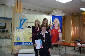 Photo: V Ogólnopolska Gimnazjada Strzelecka - III miejsce drużyna dziewcząt