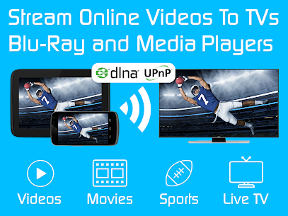Video & TV Cast | DLNA Player & UPnP Movie Mirror 9