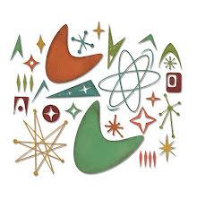 Tim Holtz Sizzix Thinlits Die Set 25PK - Atomic Elements 19-01