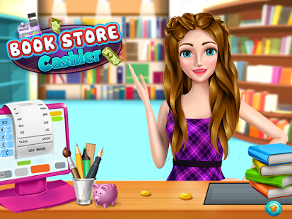 High School Book Store Cashier - Cashier Simulator - náhled