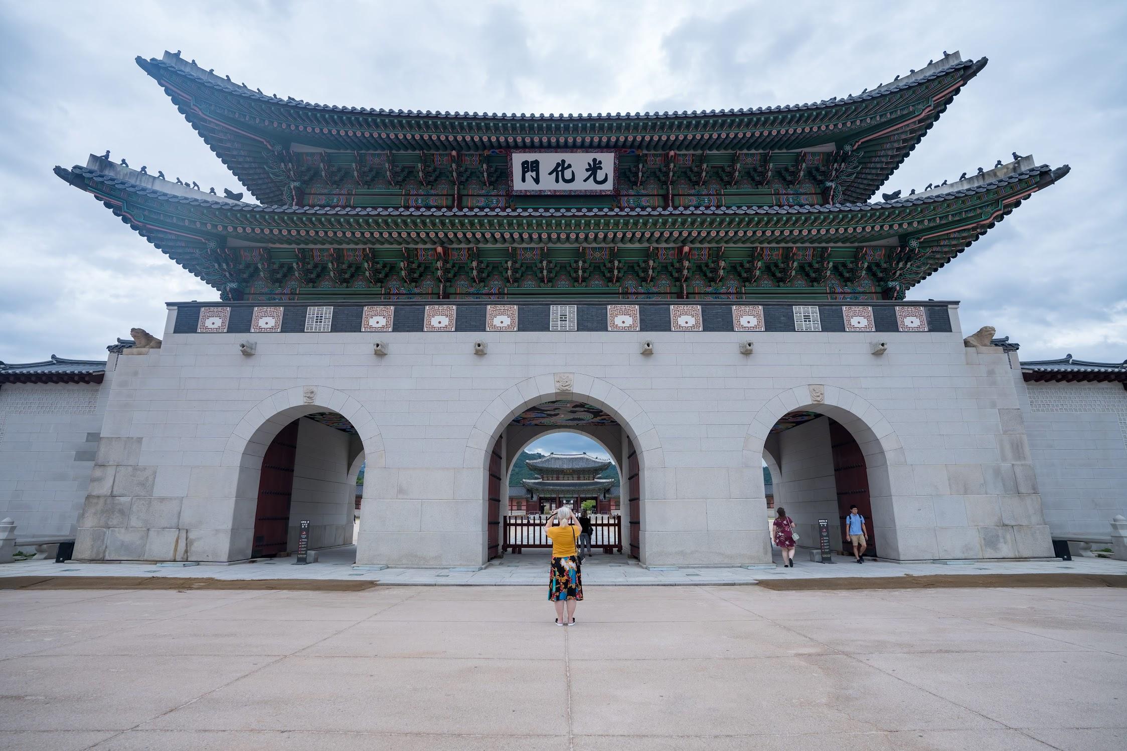 ソウル 景福宮 光化門