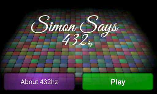 Simon Says 432 Free