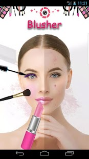 Makeup Selfie Cam - makeover sudio - náhled