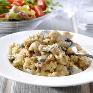 Risotto Met Champignons, Pesto, Gorgonzola En Walnoten