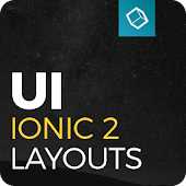 Ionic 2 UI Theme - Yellow Dark