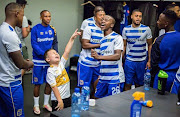 "Cape Town City's seven-year-old ""mascot"" Mateo."