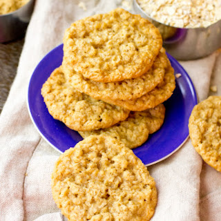 Lacey Oatmeal Cookies