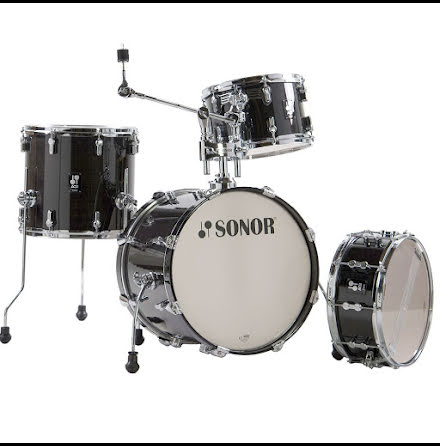 Sonor AQ2 - 18/12/14/14s. Finish: Transparent Stain Black