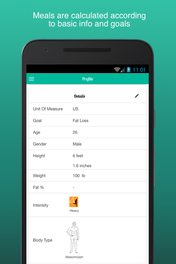 Favoloso Fitness Meal Planner - Android Apps on Google Play CS47