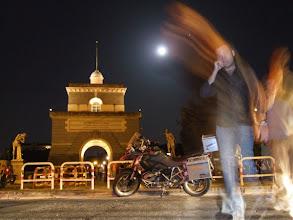 Photo: Vor allem spät abends ist der Ponte Milvio ...