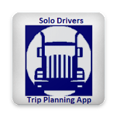 Truckers Trip Planning App - Solo Drivers