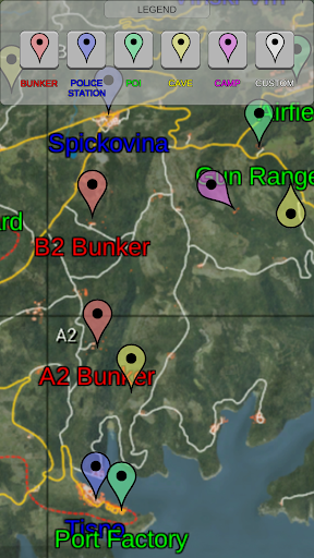 SCUM Game Map  captures d'écran 5