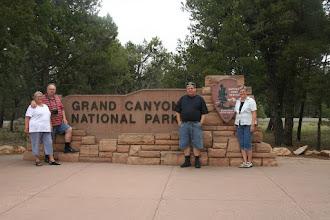 Photo: 2008 - 3 uger sammen med Marianne og Jesper - Her er vi ved Grand Canyon National Park