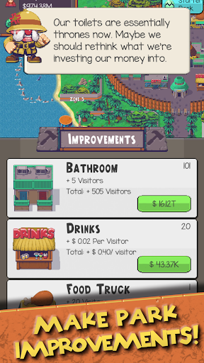 Idle Dino Zoo 0.6.3 screenshots 4