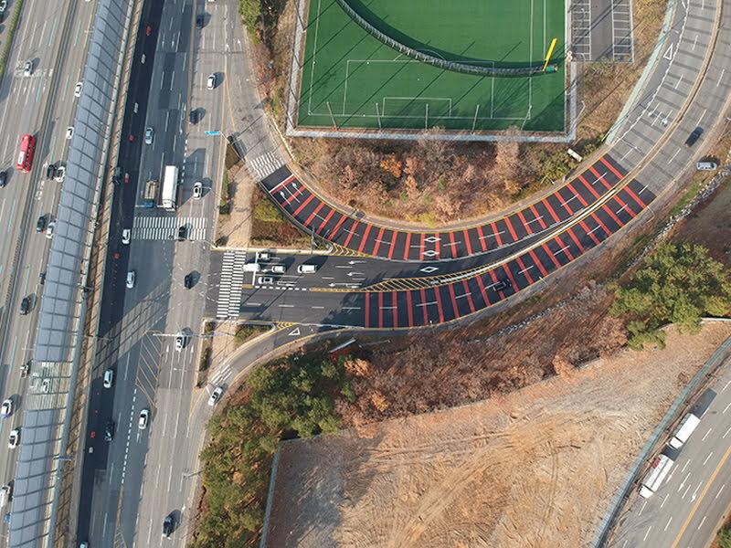 보라횡단교삼거리 지방도315호선 교통체계 개선