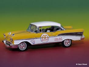 Photo: Noch ein Bel Air 1957 aus meiner Sammlung in 1:24