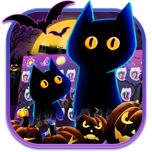 Happy Halloween Keyboard Theme