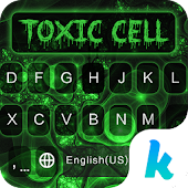 Toxic Cell 💀 Keyboard Theme