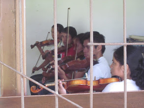 Photo: At the Urubichá music institute