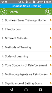 Learn Business Sales Training- screenshot thumbnail