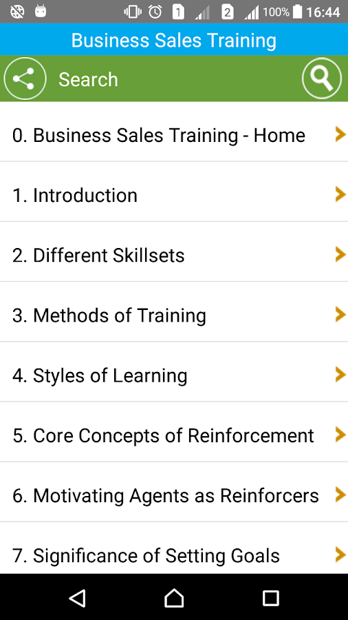 Learn Business Sales Training- screenshot