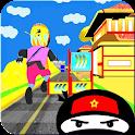 Metro ninjas de surf icon