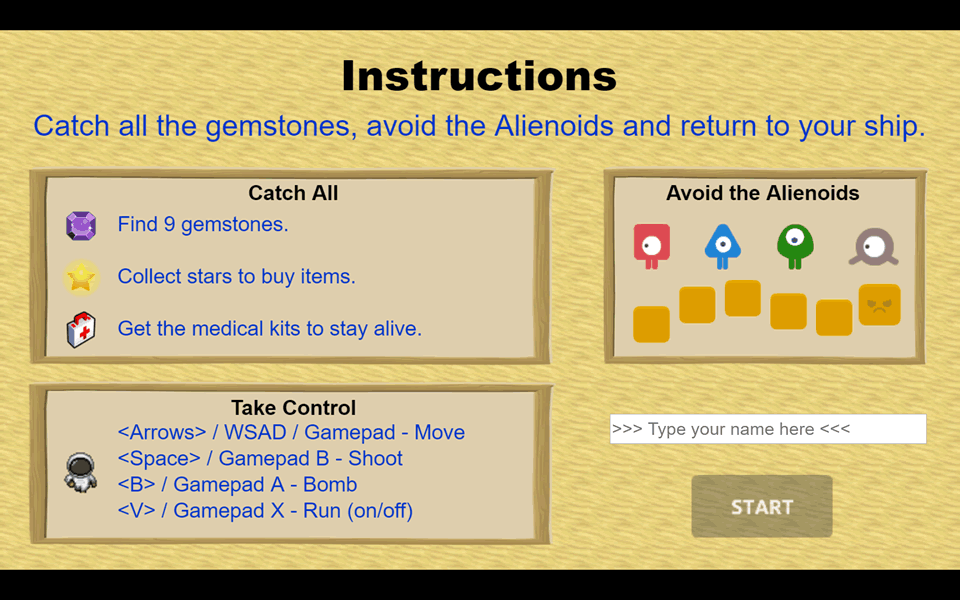 Alienoids- screenshot