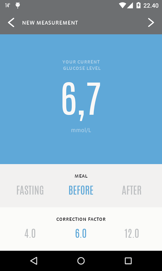 InRange Diabetes Management- screenshot
