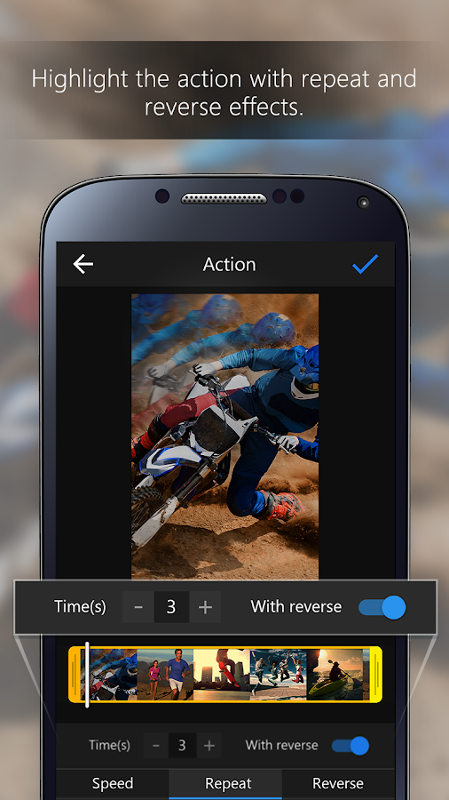 ActionDirector Video Editor - Edit Videos Fast- screenshot
