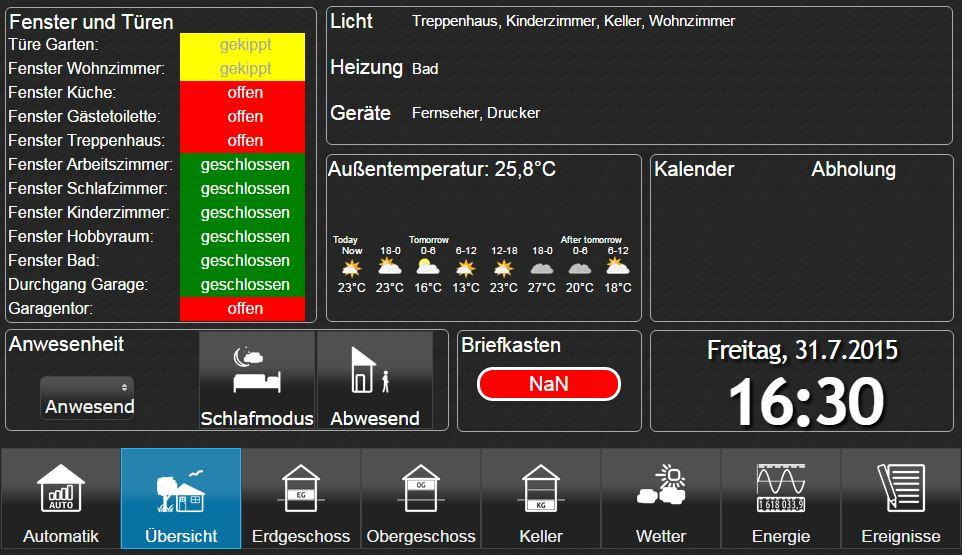 ioBroker.vis – Screenshot