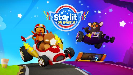 Starlit On Wheels: Super Kart 2.1 screenshots 1