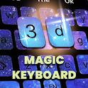 Magic Keyboard 3d icon