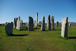 Les pierres levées de Callanish