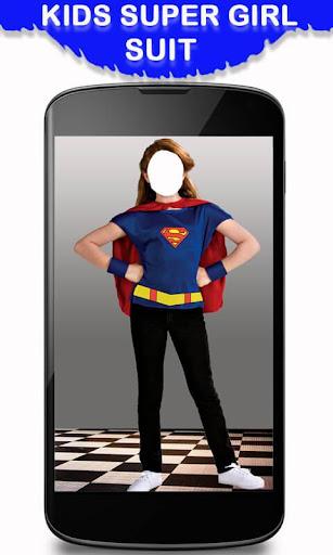Kids Super Girl Suit New